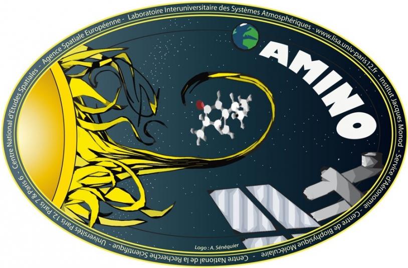 Logo de l'expérience Amino. Crédits : A. Sénéquier.
