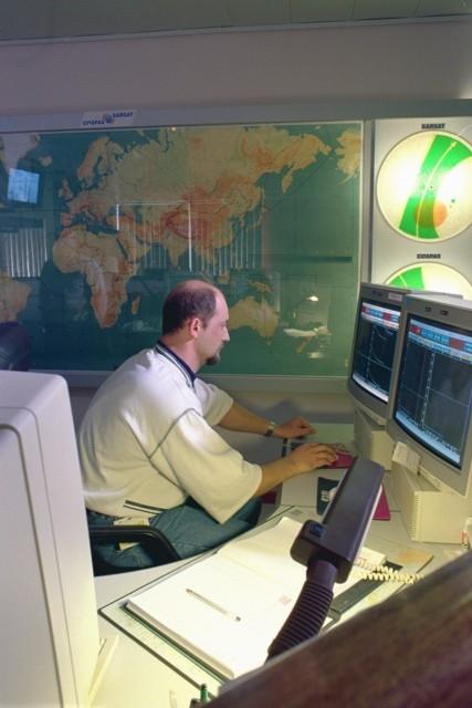 Centre de contrôle de mission français Cospas-Sarsat (FMCC) à Toulouse. Crédits : CNES/E.Grimault.