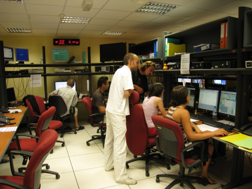 Jason-2 command and control centre at CNES's space centre in Toulouse. Credits: CNES.