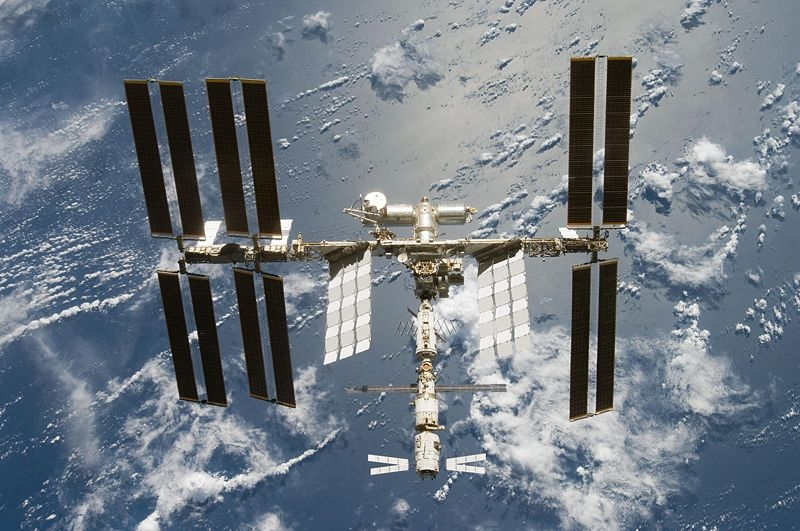 AMINO will be exposed to solar radiation outside the International Space Station. Credits: NASA.