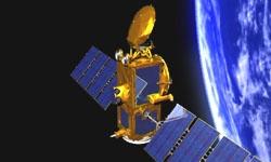 The Jason-2 satellite in orbit since 20 June 2008. Credits: CNES.