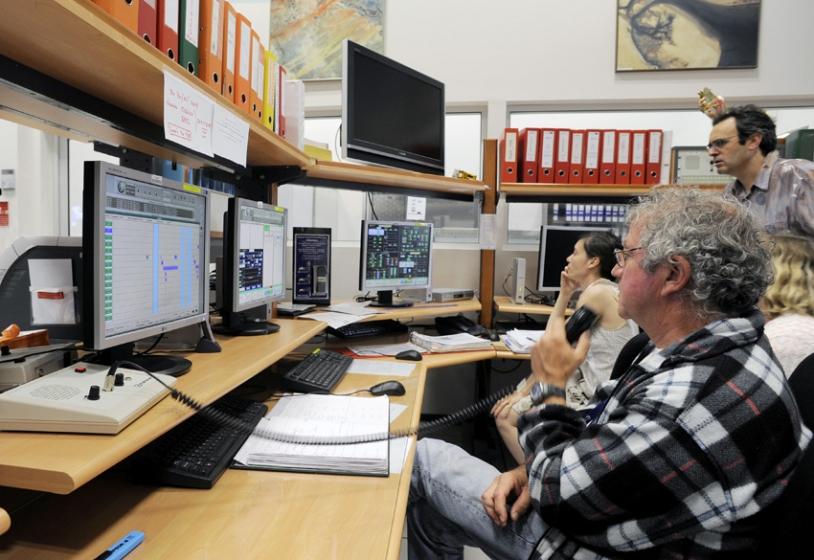 Le Centre de maintien à poste des satellites Spot, la semaine dernière. Crédit: CNES/E.Grimault