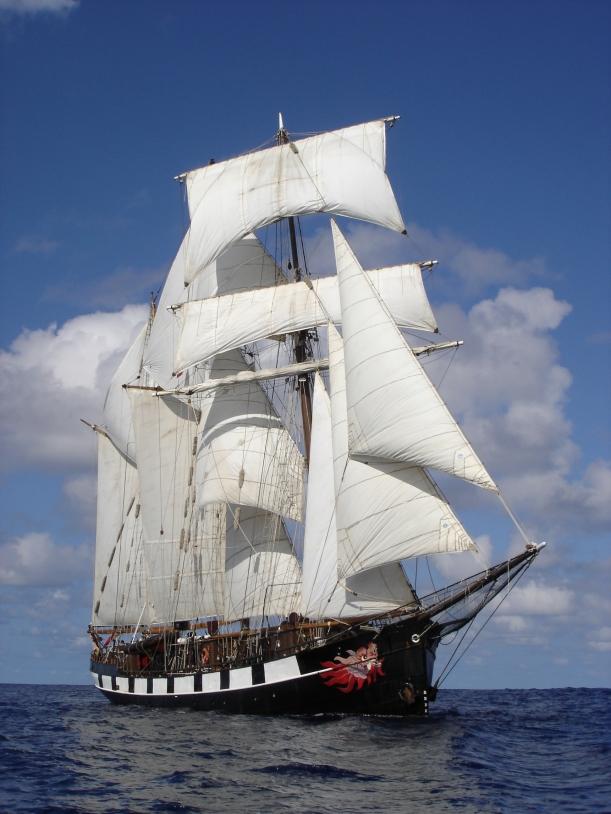 La Boudeuse sets sail in August. Credits: La Boudeuse.