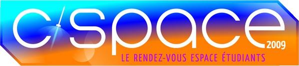 Nouveau logo C'Space. Crédits : CNES 2009