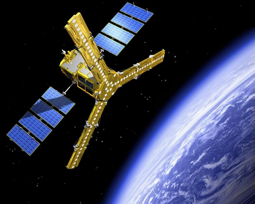 La satellite SMOS devrait être lancé en novembre prochain depuis le cosmodrôme de Plesetsk en Russie. Crédits : ESA.