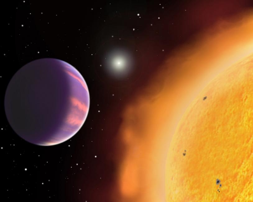 Le système pourrait bien comporter 2 planètes de type « Super-Terre. » Crédits : NASA.