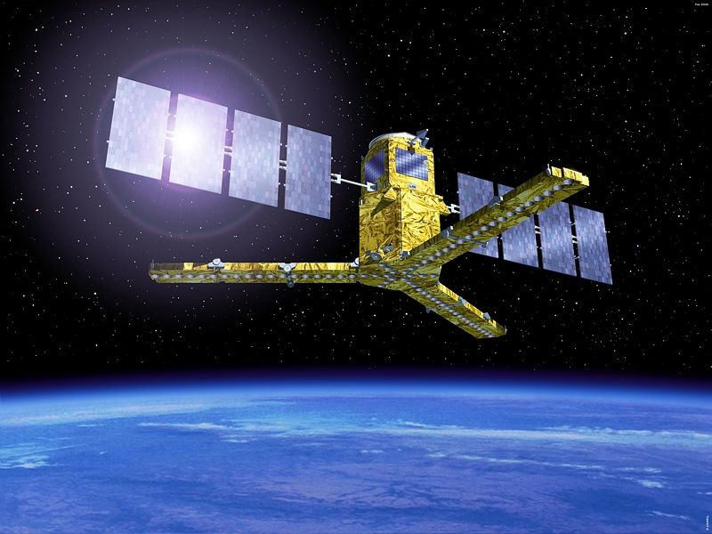 SMOS reached its final operating orbit some 760 km above Earth on 19 November. Credits: Ill. ESA.