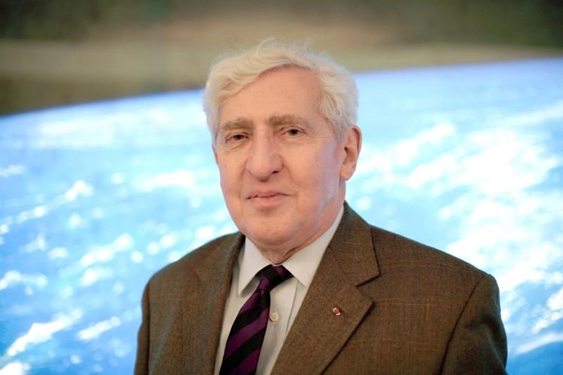 Jacques-Emile Blamont. Crédits : CNES/O. Pascaud 2006.