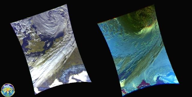 Images satellite de Parasol (cliquez sur l'image pour l'agrandir). Crédits : CNES.