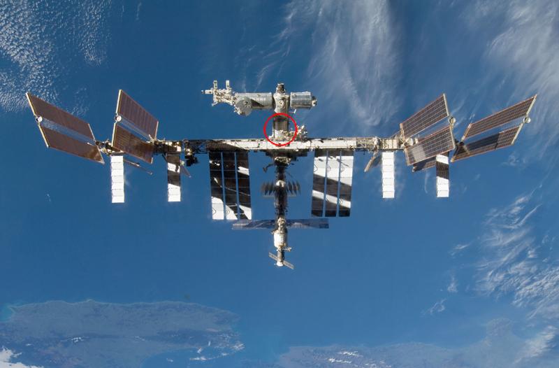 L'instrument DECLIC a été installé en 2009 dans le module Destiny de la Station spatiale internationale. Crédits : NASA.