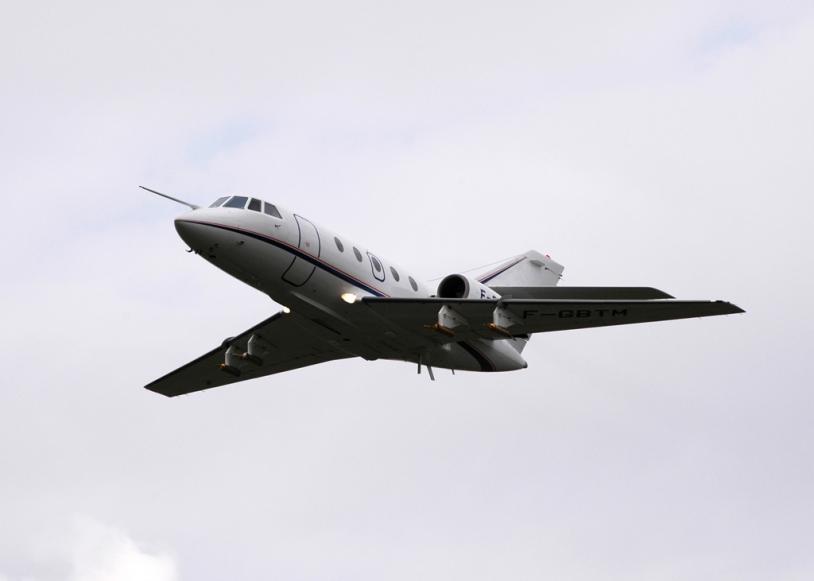 Le Falcon 20. Source : SAFIRE