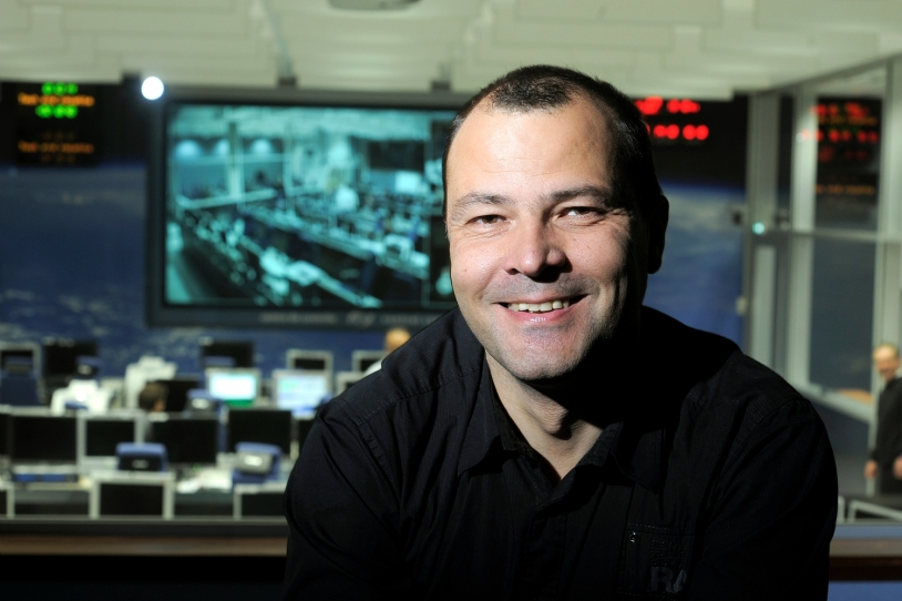 Martial Vanhove, ATV 2 technical manager at CNES. Credits: CNES/E. Grimault.