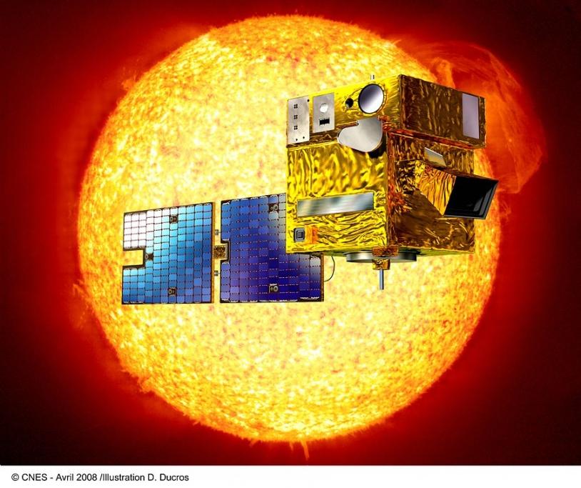 Le satellite Picard a été lancé le 15 juin dernier depuis la base de Yasny en Russie. Crédits : CNES/D. Ducros.