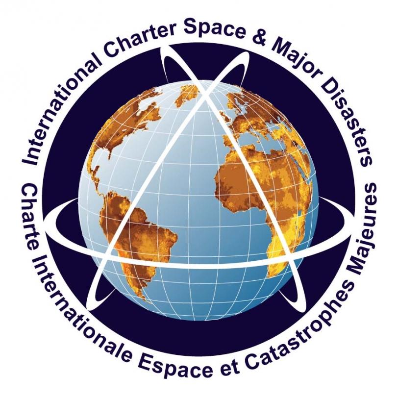 Logo de la Charte. Crédits : CNES, ESA, ASC.