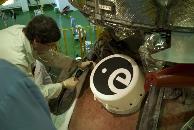 ESA exposure module, mounted on the Photon capsule. Credits: ESA.