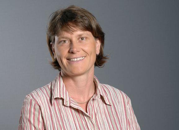 Aurélie Sand, responsable du programme Recherche spatiale et Développement au CNES. Crédits : CNES/E. Grimault.