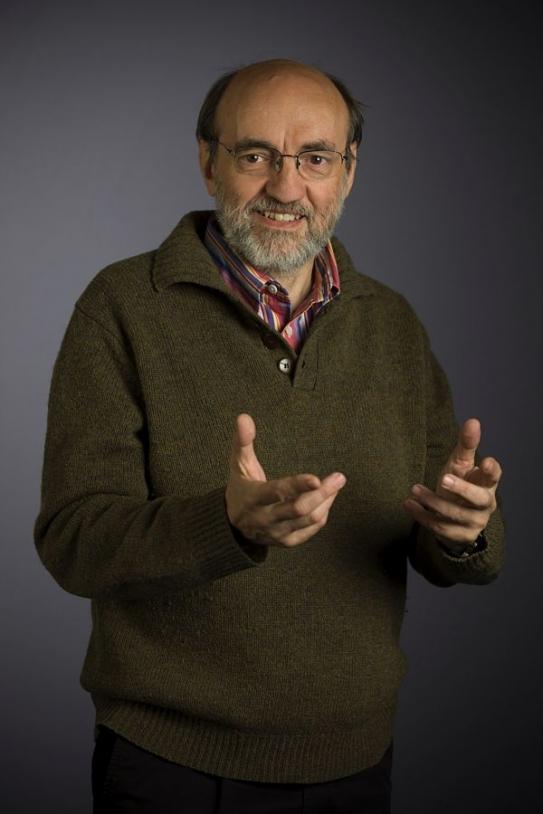 Michel Viso, exobiologiste au CNES. Crédits : CNES/S. Godefroy.