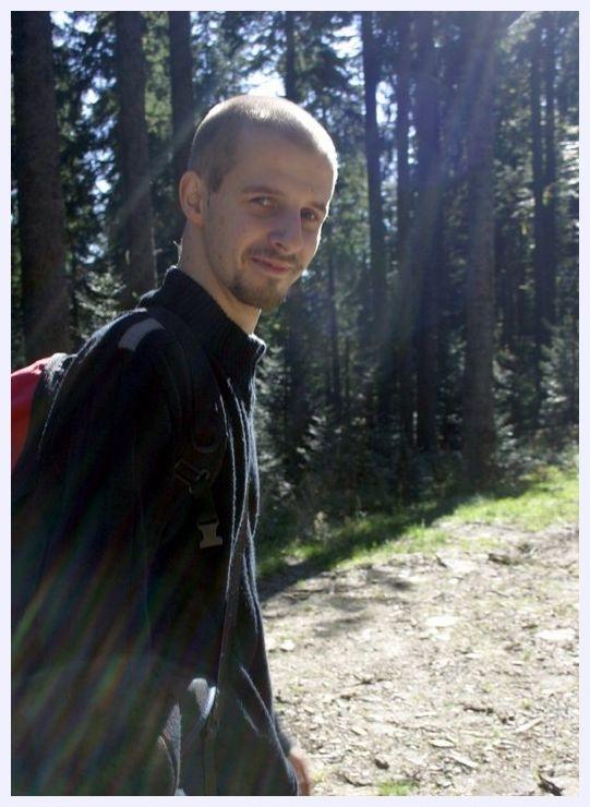 Michal Kusiak, the Polish student who spotted SOHO's 2,000th comet. Credits: Marcin Kusiak.