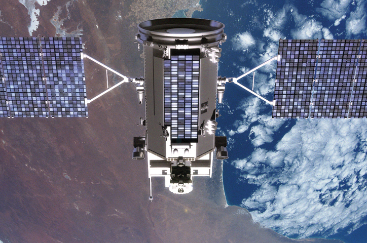Le satellite Glory devrait être mis en orbite le 4 mars. Crédits : NASA.