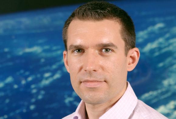 Steven Hosford, responsable des programmes Terre solide au CNES. Crédits : CNES/C. Dupont.