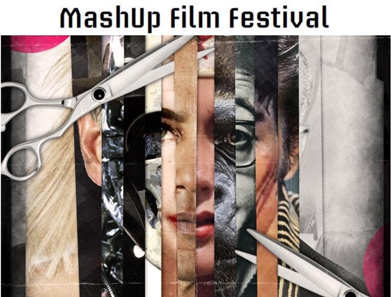 L'affiche du MashUp Film Festival 2011. Crédits : Forum des Images.