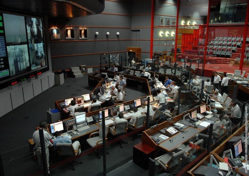 The Jupiter control room at the Guiana Space Centre. Credits: CNES/ESA/Arianespace/Optique Vidéo CSG.