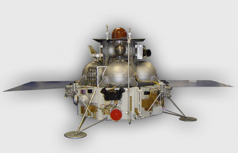 Sonde Phobos-Grunt. Crédits : Roscosmos.