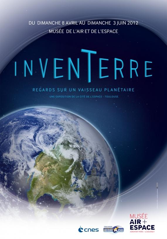 Exposition Inten-Terre au Musée de l'air et de l'Espace