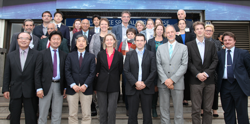 Meeting in Paris (October 2012). Credits: CNES/S. Charrier.