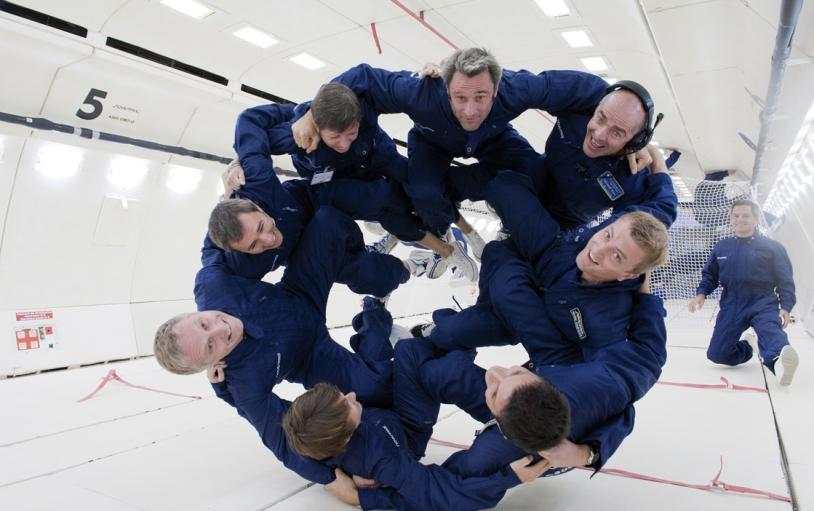 Devenez astronaute d'un jour à bord de l'A300 ZERO-G. Crédits : CNES, Novespace.
