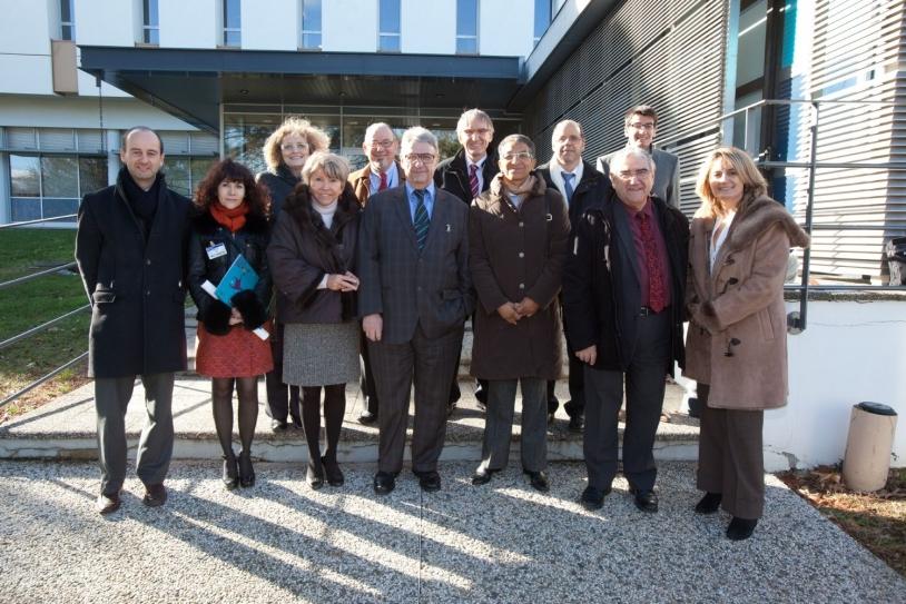 Le Groupe des parlementaires sur l'espace au CST le 12 décembre 2012