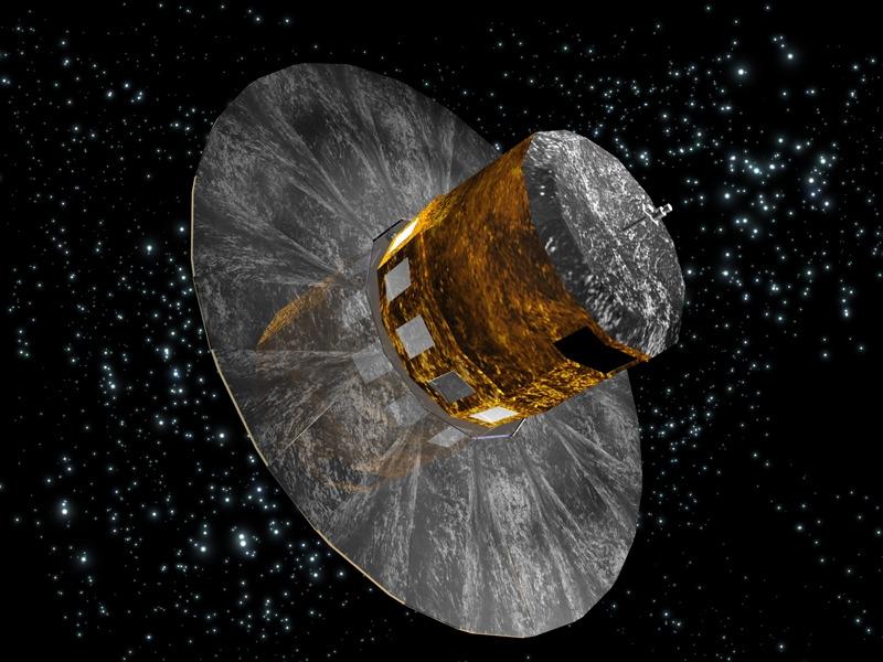 Satellite Gaia. Crédits : ESA.