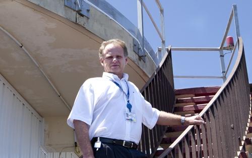 Pierre Zammit, responsable de la Mission Guyane du CNES. Crédits : Caribmag.fr