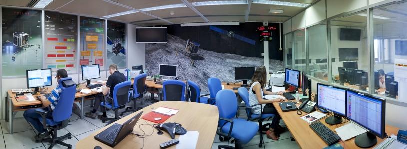 Les locaux du SONC au CNES à Toulouse. Crédits : CNES/G. Cannat.