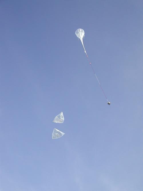 Lancement du vol Casolba ; crédits CNES