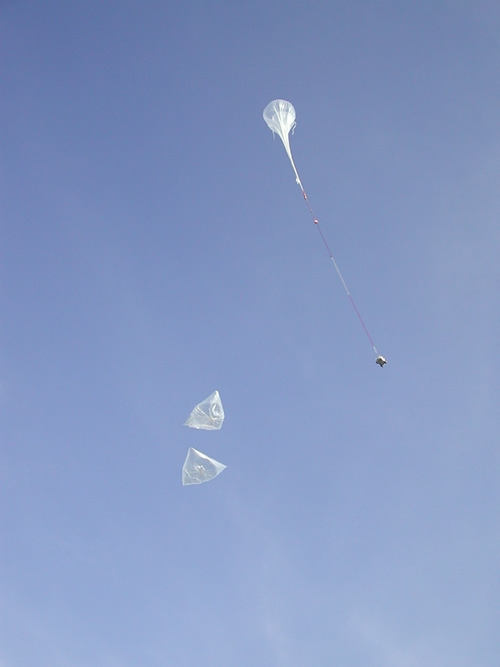 Launching the Casolba flight ; credits CNES
