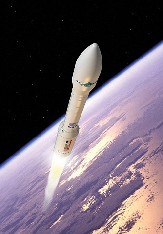 The future European launcher Vega. Credits: ESA/J.Huart