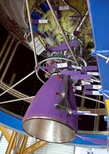 The Vulcain engine. Credits: CNES/Esa/Arianespace/CSG Service optique, 2006