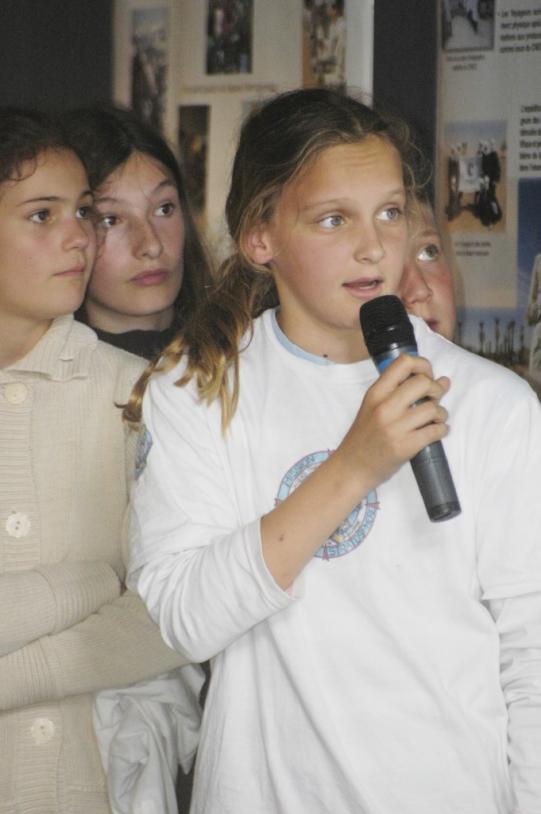 Presentation in Toulouse. Crédits : CNES/Hervé PIRAUD, 2007