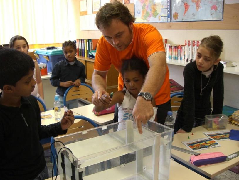 Démarrage du projet pédagogique à l'Ecole Gérard Philippe de Grigny.