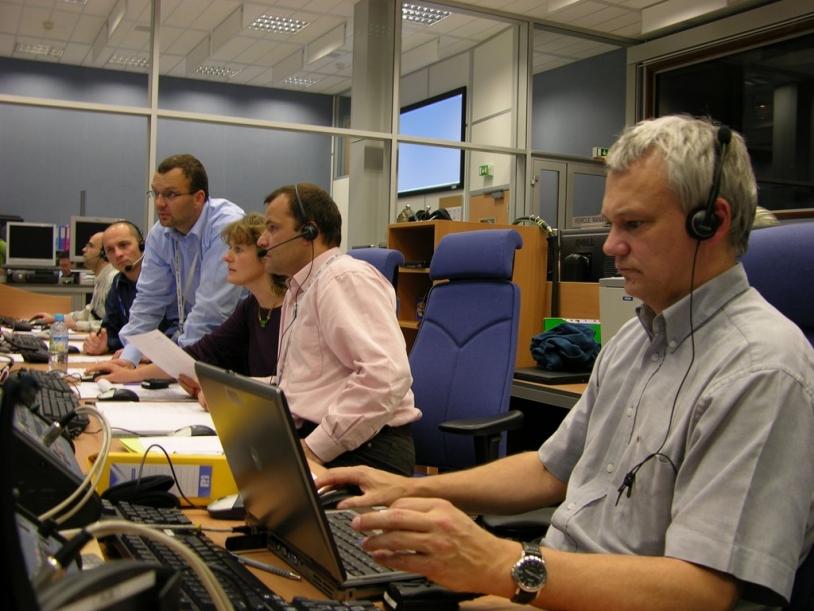 Equipes ESA/CNES en action à Toulouse