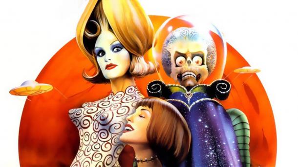 Le film « Mars Attacks ! » de Tim Burton sera projeté le 12 avril à la cinémathèque de Toulouse. Crédits : Warner Bros.