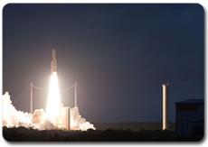 Décollage d'Ariane depuis le site de Toucan, 26 juin 2010
