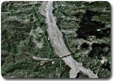 Attock City après les inondations au Pakistan, par Spot 5