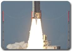 Décollage d'Ariane vol 198 depuis le site Toucan