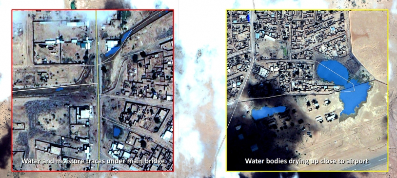 Les inondations au Niger cartographiées par Pléiades